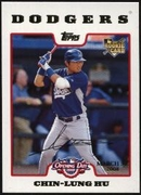 2008 Topps Opening Day Gold Chin-Lung Hu Baseball Card