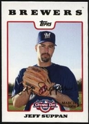 2008 Topps Opening Day Gold Jeff Suppan Baseball Card