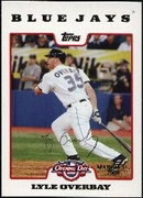 2008 Topps Opening Day Gold Lyle Overbay Baseball Card