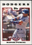 2008 Topps Opening Day Gold Rafael Furcal Baseball Card