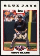 2008 Topps Opening Day Gold Troy Glaus Baseball Card