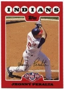 2008 Topps Opening Day Jhonny Peralta Baseball Card