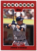 2008 Topps Opening Day Jose Vidro Baseball Card