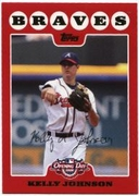 2008 Topps Opening Day Kelly Johnson Baseball Card