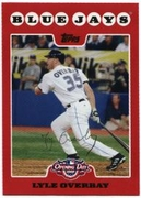 2008 Topps Opening Day Lyle Overbay Baseball Card