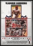 2008 Topps Opening Day Puzzle Card Vladimir Guerrero #3 Baseball Card