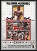 2008 Topps Opening Day Puzzle Card Vladimir Guerrero #4 Baseball Card