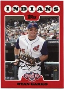 2008 Topps Opening Day Ryan Garko Baseball Card