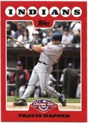 2008 Topps Opening Day Travis Hafner Baseball Card