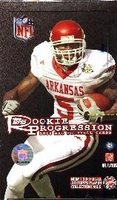 2008 Topps Rookie Progression NFL Football Cards Hobby Box