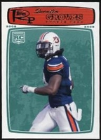 2008 Topps Rookie Progression Quentin Groves Rookie Football Card