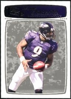 2008 Topps Rookie Progression Silver Steve McNair Football Card