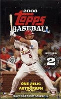 2008 Topps Series 2 Baseball Cards Hobby Box