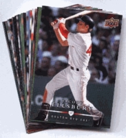 2008 Upper Deck First Edition Boston Red Sox Baseball Cards Team Set