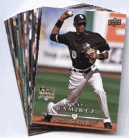 2008 Upper Deck First Edition Chicago White Sox Baseball Cards Team Set