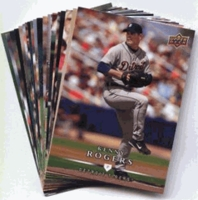 2008 Upper Deck First Edition Detroit Tigers Baseball Cards Team Set