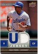 2008 Upper Deck First Edition Jerseys Game-Used Juan Pierre Baseball Card