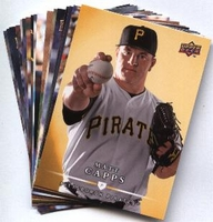 2008 Upper Deck First Edition Pittsburgh Pirates Baseball Cards Team Set