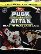 2009-10 Topps Puck Attax NHL Hockey Card Game Booster Pack
