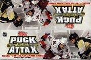 2009-10 Topps Puck Attax NHL Hockey Card Game Booster Packs Box