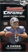 2009 Bowman Chrome NFL Football Cards Hobby Pack