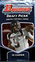 2009 Bowman Draft Picks NFL Football Cards Hobby Pack