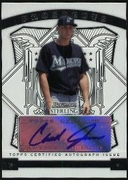 2009 Bowman Sterling Prospects Chad James Autographed Baseball Card