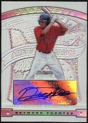 2009 Bowman Sterling Prospects Refractors Reymond Fuentes Autographed Baseball Card
