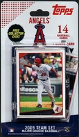 2009 Los Angeles Angels of Anaheim Topps MLB Factory Baseball Cards Team Set