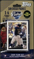 2009 San Diego Padres Topps MLB Factory Baseball Cards Team Set