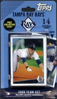 2009 Tampa Bay Rays Topps MLB Factory Baseball Cards Team Set