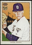 2009 Topps 206 Mat Latos Rookie Baseball Card