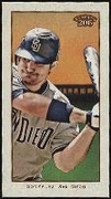2009 Topps 206 Mini Old Mill Adrian Gonzalez Baseball Card