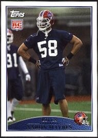 2009 Topps Aaron Maybin Rookie NFL Football Card