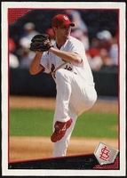 2009 Topps Adam Wainwright Baseball Card