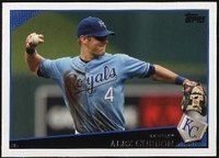 2009 Topps Alex Gordon Baseball Card