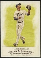 2009 Topps Allen and Ginter B.J. Upton Baseball Card
