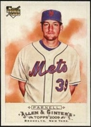 2009 Topps Allen and Ginter Bobby Parnell Rookie Baseball Card