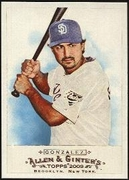 2009 Topps Allen and Ginter Edgar Gonzalez Baseball Card