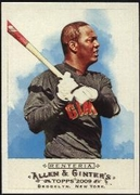 2009 Topps Allen and Ginter Edgar Renteria Baseball Card