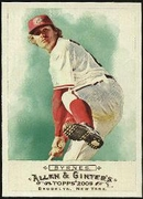 2009 Topps Allen and Ginter Eric Byrnes Baseball Card