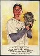 2009 Topps Allen and Ginter Erik Bedard Baseball Card
