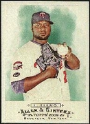 2009 Topps Allen and Ginter Francisco Liriano Baseball Card