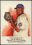 2009 Topps Allen and Ginter Francisco Rodriguez Baseball Card