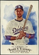 2009 Topps Allen and Ginter James Loney Baseball Card