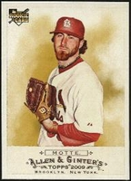 2009 Topps Allen and Ginter Jason Motte Baseball Card