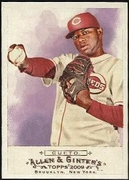 2009 Topps Allen and Ginter Johnny Cueto Baseball Card