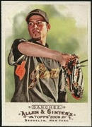 2009 Topps Allen and Ginter Jonathan Sanchez Baseball Card