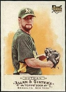 2009 Topps Allen and Ginter Josh Outman Rookie Baseball Card