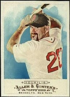 2009 Topps Allen and Ginter Kevin Youkilis Baseball Card